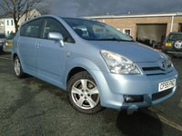 USED 2005 55 TOYOTA COROLLA 1.8 VERSO T3 VVT-I 5d 128 BHP DIESEL 7 SEATER+NEW MOT ON SALE