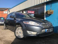 USED 2009 09 FORD MONDEO 2.0 GHIA TDCI 5d 140 BHP DIES LEATHER, AIR CON, PRIVACY GLASS