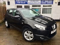 USED 2012 12 NISSAN QASHQAI 1.5 ACENTA DCI 5d 110 BHP 31K FSH TWO OWNERS CRUISE BLUETOOTH PARK AID  EXCELLENT CONDITION