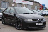 2004 SEAT LEON 1.8 CUPRA R 20V 5d 225 BHP £3975.00