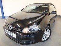 2012 VOLKSWAGEN GOLF 2.0 SE TDI BLUEMOTION TECHNOLOGY 2d 139 BHP £6990.00