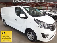 "USED 2016 16 VAUXHALL VIVARO 1.6 2900 L2H1 CDTI SPORTIVE LWB VAN 115 BHP- LOW MILEAGE -  ""YOU'RE IN SAFE HANDS"" - AA DEALER PROMISE"