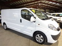 2014 VAUXHALL VIVARO 2.0 2900 CDTI SPORTIVE LWB 115 BHP £8395.00