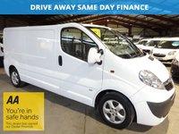 """USED 2014 14 VAUXHALL VIVARO 2.0 2900 CDTI SPORTIVE LWB 115 BHP """"YOU'RE IN SAFE HANDS"""" - AA DEALER PROMISE"""