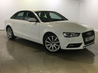 USED 2015 15 AUDI A4 1.8 TFSI SE TECHNIK 4d 118 BHP One Owner From New/Huge Spec