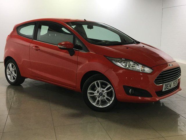 View our 2014 14 FORD FIESTA 1.0 ZETEC 3d 99 BHP