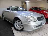 USED 2003 03 MERCEDES-BENZ SLK 2.0 SLK200 KOMPRESSOR 2d 163 BHP