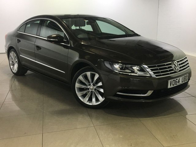 View our 2014 64 VOLKSWAGEN CC 2.0 TDI BLUEMOTION TECHNOLOGY DSG 4d AUTO 138 BHP