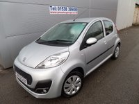 USED 2013 63 PEUGEOT 107 1.0 ACTIVE 5d 68 BHP LOW MILEAGE AIR CON