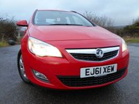 USED 2012 61 VAUXHALL ASTRA 1.7 ES CDTI ECOFLEX 5d 108 BHP ** ESTATE , GREAT VALUE **
