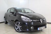 USED 2014 14 RENAULT CLIO 1.5 DYNAMIQUE S MEDIANAV ENERGY DCI S/S 5DR 90 BHP FULL SERVICE HISTORY + REVERSE CAMERA + CRUISE CONTROL + BLUETOOTH + MULTI FUNCTION WHEEL + HEATED SEATS + 17 INCH ALLOY WHEELS