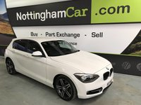 USED 2012 A BMW 1 SERIES 116D SPORT