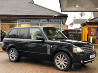 2010 LAND ROVER RANGE ROVER 5.0 V8 SUPERCHARGED AUTBIOGRAPHY £19995.00