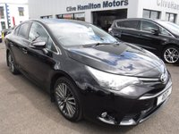 USED 2017 17 TOYOTA AVENSIS 2.0 D-4D DESIGN 4d 141 BHP 1/2 Leather & Priv Glass