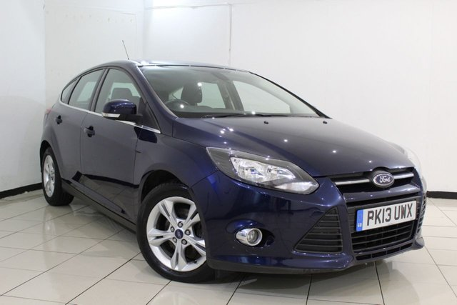View our 2013 13 FORD FOCUS 1.6 ZETEC ECONETIC TDCI 5DR 104 BHP