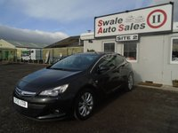 USED 2015 65 VAUXHALL ASTRA 1.4 GTC SRI S/S 3d 138 BHP £40 PER WEEK, NO DEPOSIT, SEE FINANCE LINK BELOW