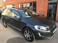 USED 2014 64 VOLVO XC60 2.0 D4 SE LUX NAV 5d 178 BHP Full service history,   Full leather upholstery.   Electric/Memory driver's seat,   Bluetooth,   Satellite Navigation,   Wi-Fi,   Remotely operated tailgate,   Rear parking sensors
