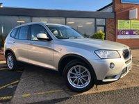 2011 BMW X3 2.0 XDRIVE20D SE 5d AUTO 181 BHP £12995.00