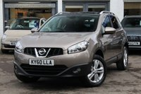 USED 2010 60 NISSAN QASHQAI 1.5 N-TEC DCI 5d 105 BHP ** FSH ** SAT-NAV ** PAN SUNROOF ** REVERSE CAMERA ** IPOD ** BLUETOOTH