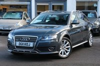 USED 2011 11 AUDI A4 ALLROAD 3.0 TDI 245PS QUATTRO S-TRONIC ESTATE AUTOMATIC FSH ** SAT-NAV ** HEATED LEATHER ** 4WD ** PARK AID ** BLUETOOTH ** IPOD