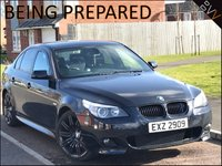 USED 2007 07 BMW 5 SERIES 3.0 530D M SPORT 4d 228 BHP *19'' 'SPIDER' ALLOYS*