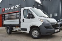 USED 2015 65 CITROEN RELAY 2.2 35 L2 TIPPER HDI 1d 129 BHP LOW MILES + SERVICE HISTORY