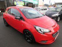 USED 2015 65 VAUXHALL CORSA 1.2 STING 3d 69 BHP ONLY 600 MILES FROM NEW .. DEALER WARRANTY.. JUST ARRIVED..