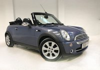USED 2005 05 MINI CONVERTIBLE 1.6 COOPER 2d 114 BHP NATIONWIDE WARRANTY INCLUDED