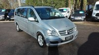 USED 2014 14 MERCEDES-BENZ VIANO 3.0 122 CDI BLUEEFFICENCY AMBIENTE AUTO XLWB Extra Long Wheel Base, Electric Side Doors
