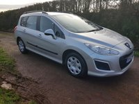 USED 2013 62 PEUGEOT 308 1.6 HDI SW ACCESS 5d 92 BHP **£30 ROAD FUND**FULL HISTORY**DRIVES SUPERB**