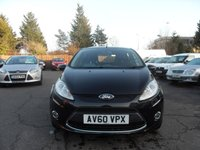 USED 2010 60 FORD FIESTA 1.6 TDCI ZETEC 5Dr LOW TAX AND EXCELLENT MPG NO DEPOSIT  FINANCE ARRANGED, APPLY HERE NOW