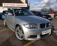 USED 2009 BMW 1 SERIES 2.0 120D M SPORT 2d 175 BHP