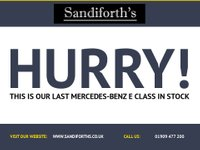 USED 2011 61 MERCEDES-BENZ E CLASS 2.1 E220 CDI BLUEEFFICIENCY EXECUTIVE SE 5d AUTO 170 BHP FACE LIFT, NAV, HEATED LEATHER, BLUETOOTH 6 SVCS