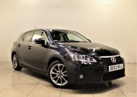 USED 2013 63 LEXUS CT 1.8 200H ADVANCE 5d AUTO 136 BHP + 1 PREV OWNER +  SERVICE HISTORY + AIR CON + AUX + LEATHER SEATS