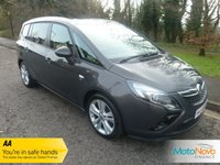 USED 2014 64 VAUXHALL ZAFIRA TOURER 2.0 SRI CDTI 5d 162 BHP Very Nice Spec One Owner Zafira Tourer with Satellite Navigation, 18 Inch Alloy Wheels, Seven Seats, Air Conditioning, Cruise Control and Service History