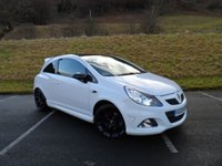 USED 2009 09 VAUXHALL CORSA 1.6 VXR ARCTIC EDITION 3d 192 BHP FULL SERVICE HISTORY