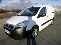 2015 PEUGEOT PARTNER 850 L1 Professional 1.6 HDI 92ps £6995.00