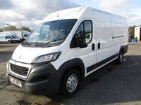 USED 2017 17 PEUGEOT BOXER XLWB 435 L4 H2 Professional Blue 2.0 HDI 130ps L4 Ply Lined A/C Nav 1 Owner V.Tidy!