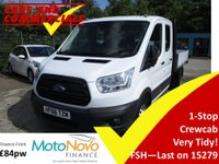 2016 FORD TRANSIT TIPPER DOUBLE CAB 350 L3 RWD DRW 1-Stop 125ps £16995.00