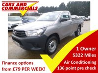 2016 TOYOTA HILUX Single Cab 2.4 ACTIVE 4WD D-4D 150ps £14995.00