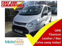2015 FORD TOURNEO CUSTOM 300 L2 (LWB) Titanium 125ps 9-Seats (Leather & Sat Nav) £14995.00