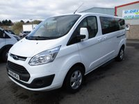 2015 FORD TOURNEO CUSTOM 300 L2 (LWB) Titanium 125ps 9 Seats (Leather & Sat Nav) £15995.00