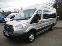 2014 FORD TRANSIT MINIBUS 460 L4 H3 TREND 17-Seats 155ps £14350.00