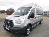 2014 FORD TRANSIT MINIBUS 460 L4 H3 TREND 17-Seats 125ps £15150.00