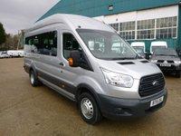 2015 FORD TRANSIT MINIBUS 460 L4 H3 17-Seats 155ps (No Tacho) £13500.00