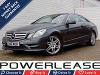 2012 MERCEDES-BENZ E CLASS 3.0 E350 CDI BLUEEFFICIENCY SPORT 2d AUTO 265 BHP £10989.00
