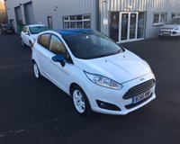 USED 2017 66 FORD FIESTA 1.25 ZETEC WHITE EDITION SPRING NAVIGATOR THIS VEHICLE IS AT SITE 1 - TO VIEW CALL US ON 01903 892224