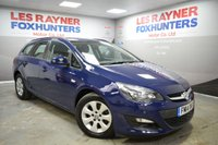 USED 2014 14 VAUXHALL ASTRA 1.7 DESIGN CDTI ECOFLEX S/S 5d 110 BHP 1 owner from new, bluetooth, Air con, cruise control