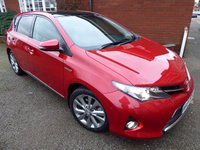 2014 TOYOTA AURIS 1.8 EXCEL VVT-I 5d AUTO 99 BHP PANORAMIC ROOF & NAV & MORE £14580.00