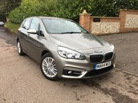 USED 2014 64 BMW 2 SERIES 2.0 218D LUXURY ACTIVE TOURER AUTOMATIC 5d 148 BHP PLEASE CALL TO VIEW